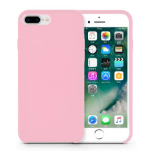 Capa Pinkish Pinkish Pink Silicone iPhone8