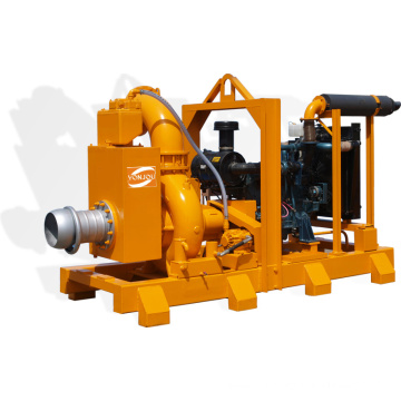 Vacuum Pump Primed Self-Priming Pumps