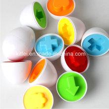 Eier Form Pairing Puzzle Spielzeug Kinder Kleinkind pädagogisches Spielzeug