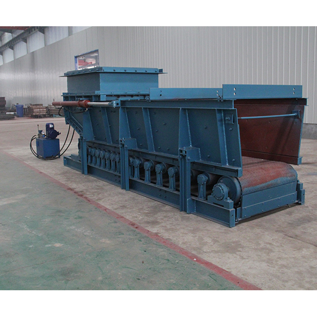Apron Feeder Steelness Adjustment Convenient Feeding Stepless Speed Feeder