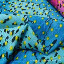 Tecido 100% Rayon / Viscose Impresso de Shirting e Vestido