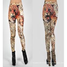 2016 Mode Tigre Impression Femmes Legging