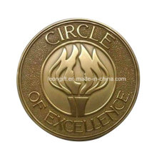 Antique Gold Wholesale Good Quality Challenge Coin Wholesale