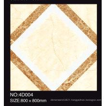 Tuile de plancher glacé par céramique de jet d'encre de carreaux de porcelaine rustique de haute qualité