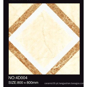 Azulejo rústico de alta qualidade da porcelana das telhas de Inkjet Cermic