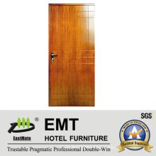Деревянные деревянные двери Индии для гостиничного номера (EMT-HD04)
