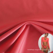 oeko tex 100 75Ddenier 4 way stretch 92 polyester 8 spandex milk silk fabric