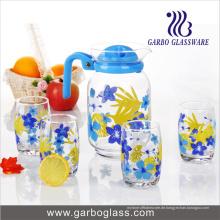 Drucken 7PCS Trinkglas Wasser Set