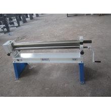 Máquina de rolamento manual (rolo de lâmina W01-2X1000 da placa da folha)