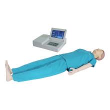Educação Médica Exibição LCD Avançada Manequim de Treinamento de RCP Humano