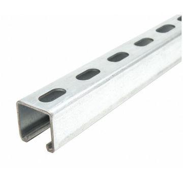 Rolo de canal de suporte com fenda de aço formando perfil