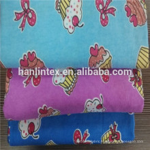 colorized printing flannel fabric for garment/printed cotton flannel fabric for children C 20*10 42*42 150CM