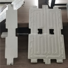 Placa de aluminio de refrigeración por agua para panel solar
