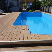 140x21mm bom toque sensação de madeira sulcado deck