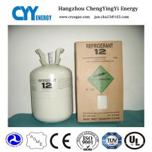Gaz réfrigérant mélangé de haute pureté de R12 (R134A, R422D, R410A)