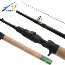 BAR101 Fishingsoul SRF nano de alta carbono FUJI guia extra rápido ação vara de pesca do robalo