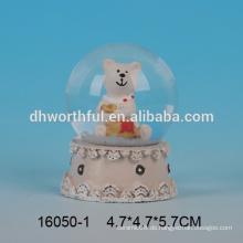 Lovely Bär geformt Kristall Schneekugel Wasserkugel