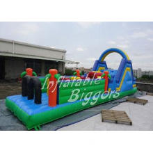 Indoor Inflatable Playground Obstacle Course Equipment 800l