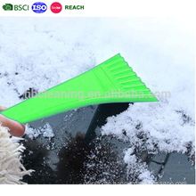 mini car ice breaker, car ice scraper squeegee, plastic ice shovel