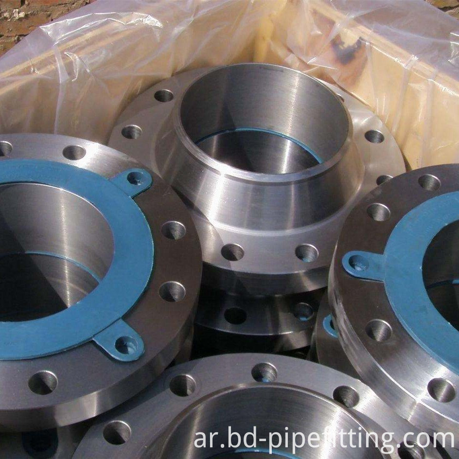 ASTM A350 LF2 / LF3 Long Weld Neck Flanges