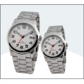 2015factory OEM New Style Fashion Cheap High Quality Stainless Steel Wrist Watches for Couples