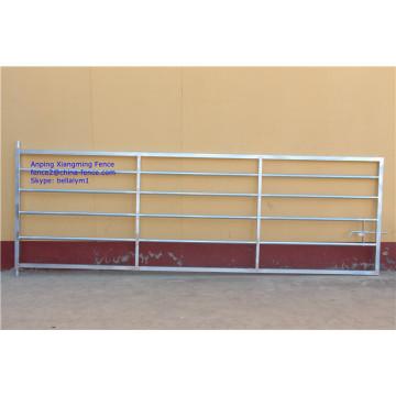 UK Type Style Heiß getaucht Galvanisiert Heavy Duty Stahl Tube Farm Gates