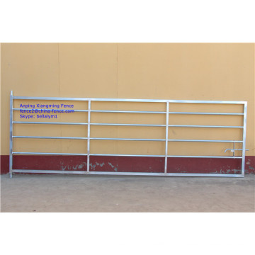 Type de style britannique Hot Dwy Galvanized Heavy Duty Steel Tube Farm Gates