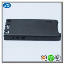 Black Anodized Aluminum Phone Case Part