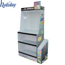 Kundenspezifischer populärer hochwertiger Pappschirm-Ausstellungsstand, nützlicher Regenschirm-Präsentationsständer