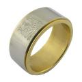 Art und Weise Art Gold überzogene Ringe