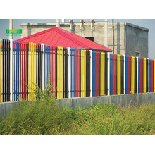Steel wire palisade fence