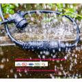 Luzes de corda ao ar livre LED de 48 pés com 15 luzes e cabo de extensão de correspondência de 13 pés - Commercial SLT-164