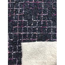 Knitted Bonded Lamb Hair Esfh-1060