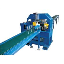 New Launched Horizontal Pipe Flow Tape Wrap Machine