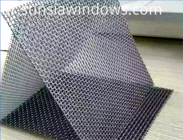 diamond mesh insect screen
