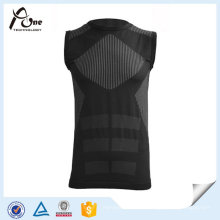 Nylon Spandex Sportswear Homens Underwear Vest