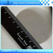 304 316 disco de filtro de aço inoxidável com relatório SGS