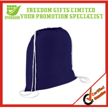 Eco-friendly LOGO Printed Canvas Drawstring Bag