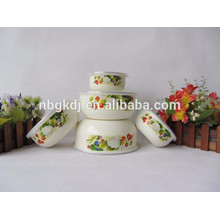 custom japanese bowl set enamel bowl