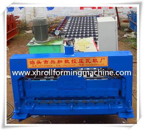 800 shutter door roll forming machine