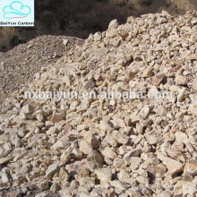 60% -88% Al2O3 calcinierter Bauxit mit niedrigem Preis