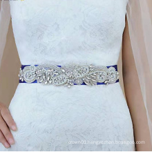 Rhinestone diamond  decoration and  wedding belts and sashes RH1046