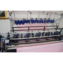 Multi-aguja de la puntada de la cerradura de transporte Yuxing del 64 pulgadas automatizó la máquina que acolcha