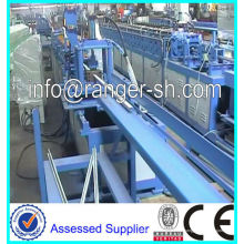 Galvanized steel suspended main Tee/Ceiling Grid Roll Forming Machine