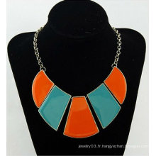 Colorful Chunky Necklace Fine Lady Costume Bijoux Colliers FN52