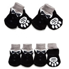 Anti-Slip Knit Dog Socks