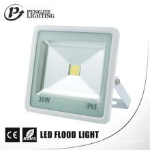 Habitação de alumínio de fundição resistente à corrosão 30W LED lâmpadas de inundação