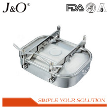 Stainless Steel Square Manhole with Double Lock