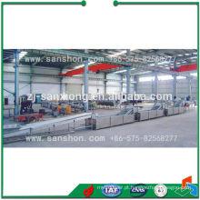 Planta de produção de secagem de legumes e frutas / linha de processamento de pré-tratamento