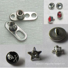 New fashion micro dermal body jewelry